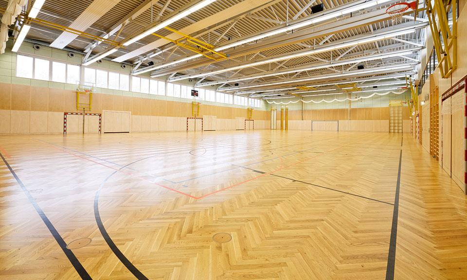 Dreifachsporthalle
